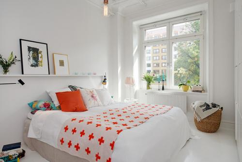 صورة تنظيم غرفة النوم الضيقة , ترتيب و تنظيم الغرف صغيره المساحه