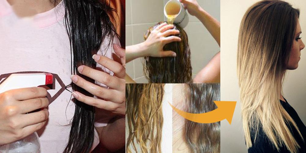 صور تاثير الخل على الشعر , وداعا للقشرة
