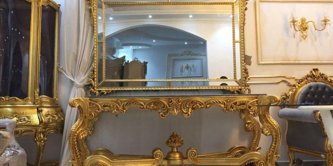 صورة اثاث دمياطي فاخر , روائع الاثاث الدمياطي تحف فنية في منزلك