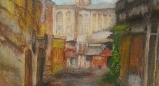 صور رسم بيوت شعبيه قديمه بالصور , صور بيوت شعبية تراثية نادرة
