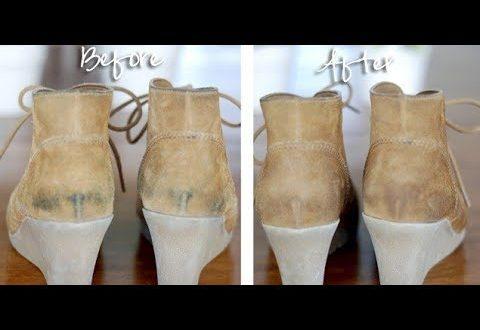 صورة طريقه لتنظيف الشامواه , اجعلى حذائك الشامواه دائما لامع