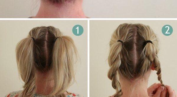 صور تسريحات شعر طويل بالخطوات , طرق سهله وعمليه لتصفيف الشعر بالصيف