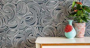 ورق حائط مودرن , احدث تصميمات ورق الحائط 2020