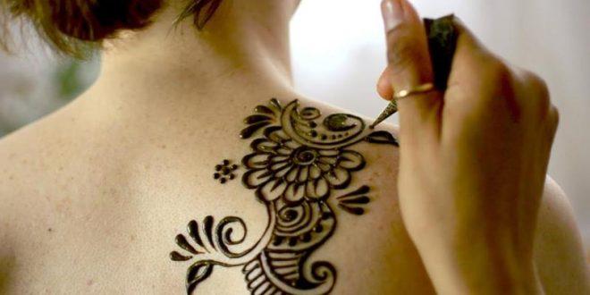 صور طريقة عمل الحنة للرسم على الجسم , اكملى انوثتك بالحنه ورسوماتها