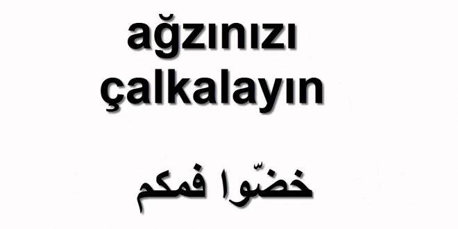صور كلمات تركية ومعناها بالعربي , كلمات تركيه تلبست بالعربيه