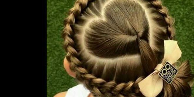 صور اجمل تسريحات شعر للبنات الصغار , اجعلي طفلتك مميزه كل يوم بشعرها