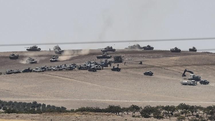 صورة عملية درع الفرات , حقائق معركة الجيش التركي مع المعارضه السوريه