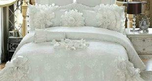 صورة احدث مفارش سرير , اروع مفرش لذينه السرير