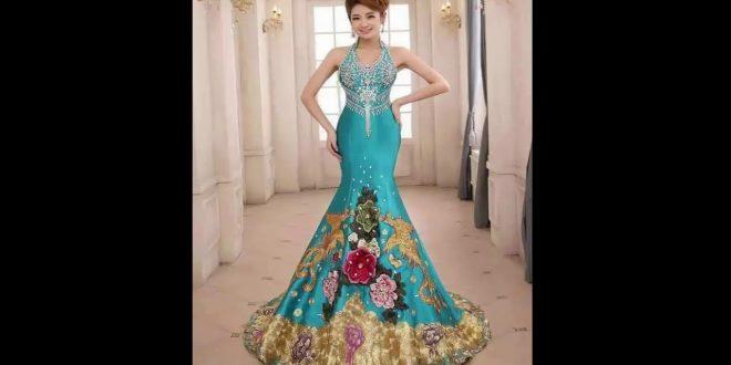 صورة احلى فستان في العالم , اجمل ما تتمنى المراه ان تقوم بارتدائه