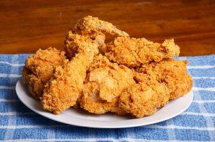 صور طريقة عمل الدجاج المقرمش , احلى اكلة دجاج مقرمش اوعي تفوتك