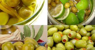 صور طريقة عمل الزيتون الاخضر منال العالم , عاوزه تاكلي احلى مخلل ليمون هقلك ازاي