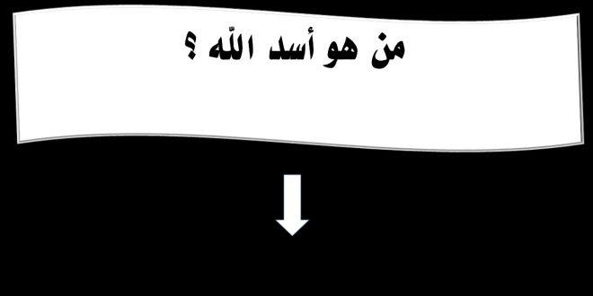 صورة من هو اسد الله , ما الاسم الثاني للصحابي حمزه عبد المطلب