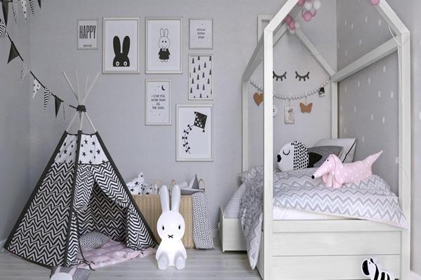 صورة غرف اطفال بناتي , اجمل التصميمات والديكورات للغرفة 3678 4