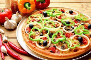 صور كيفية عمل عجينة البيتزا الوهمية , قدميها فى المنزل باسهل طريقة