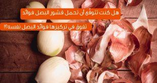 فوائد قشر البصل , اهميه قشر البصل