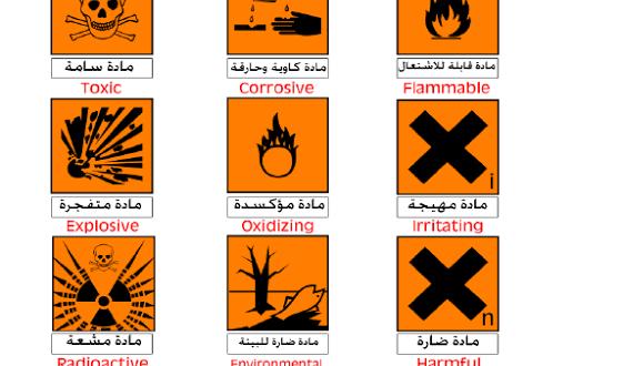 صورة ارشادات السلامة في المختبر مع الصور , قواعد السلامه في المعامل