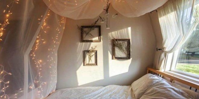 صورة اجمل غرف النوم للمتزوجين , لمسات جماليه لغرف نوم الازواج