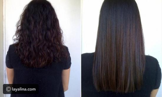 صورة شعري بعد البروتين , بروتين زيرو فورمالين
