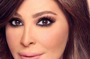 صورة مكياج لبناني فخم , عيون جريئه وطله انيقه