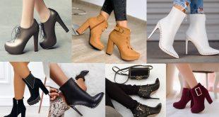 صورة احذية شتوية للبنات , موضه شتاء 2020