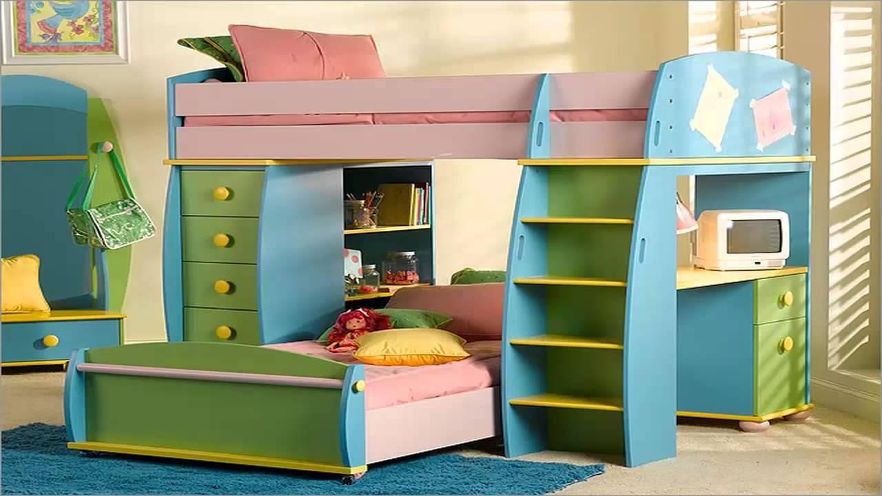 صورة صور غرف النوم الاطفال , غرف اطفال سراير بدورين افكار روعه