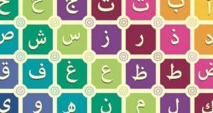 ترتيب الحروف الهجائية العربية , انواع الترتيب للحروف العربيه