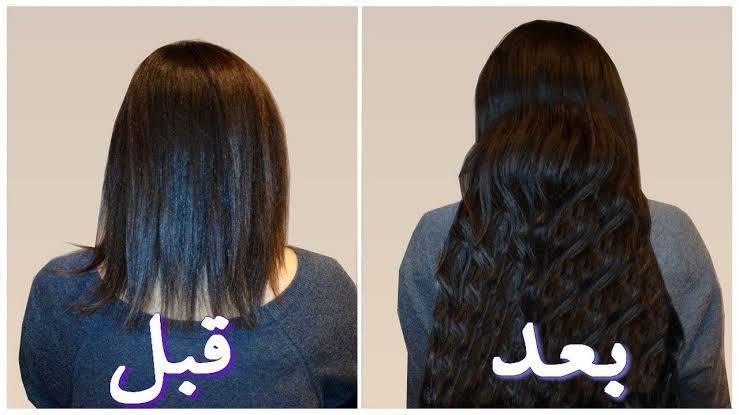 صورة وصفة لتساقط الشعر وتطويله , طريقة تكثيف الشعر