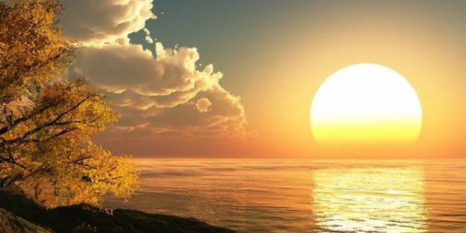 صورة مناظر طبيعية رومانسية , الهدوء والسعادة