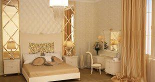 صورة غرفة نوم بيج , اشيك و ارق غرف نوم بيج