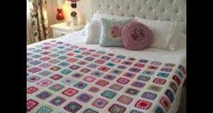 صورة مفارش سرير كروشيه تركية , اشيك مفارش هاند ميد