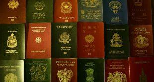 صورة ترتيب جوازات السفر حسب القوة , القوه فى عدد بلاد السفر بدون تاشيره