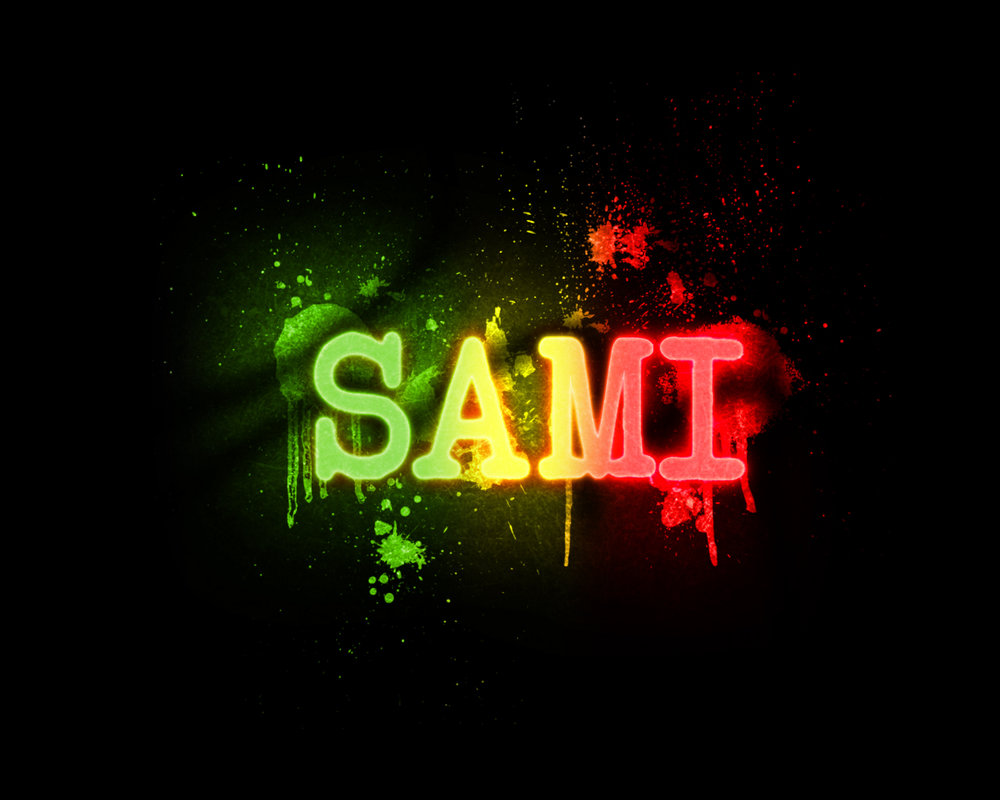 صورة اسم سامي مزخرف , معنى الرقى و السمو 1408 1