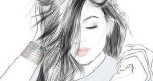 صورة خلفيات بنات رسم , بين الجمال والخيال
