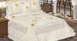 صورة مفارش سرير تركي , افرشي سريرك باحدث الموديلات