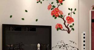 صورة زخارف على الجدران , افكار زخرفية لجدران منزلك