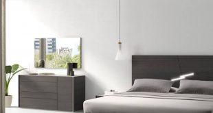 صورة غرفة نوم رمادي , شروط استخدام اللون الرمادى لغرف النوم