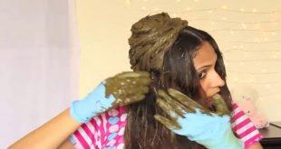 صورة كيفية وضع الحناء على الشعر , شعر لامع وصحي شوفي جمال الحناء