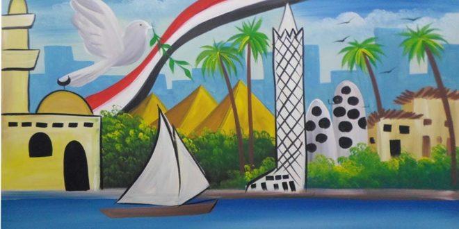 صورة رسومات عن السياحه في مصر , السياحة فى مصر بخير
