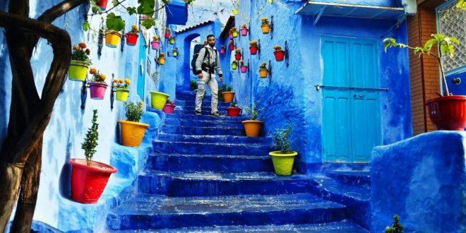 صورة خلفيات لون ازرق , الالوان التى تتناسب مع اللون الازرق