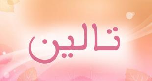 معنى اسم تالين في الاسلام , هل يجوز التسمية باسم تالين