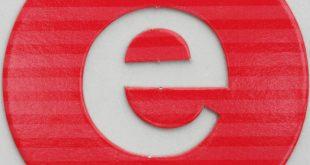 صور لحرف e ، من الحروف الأكثر استخدما فى الانجليزية