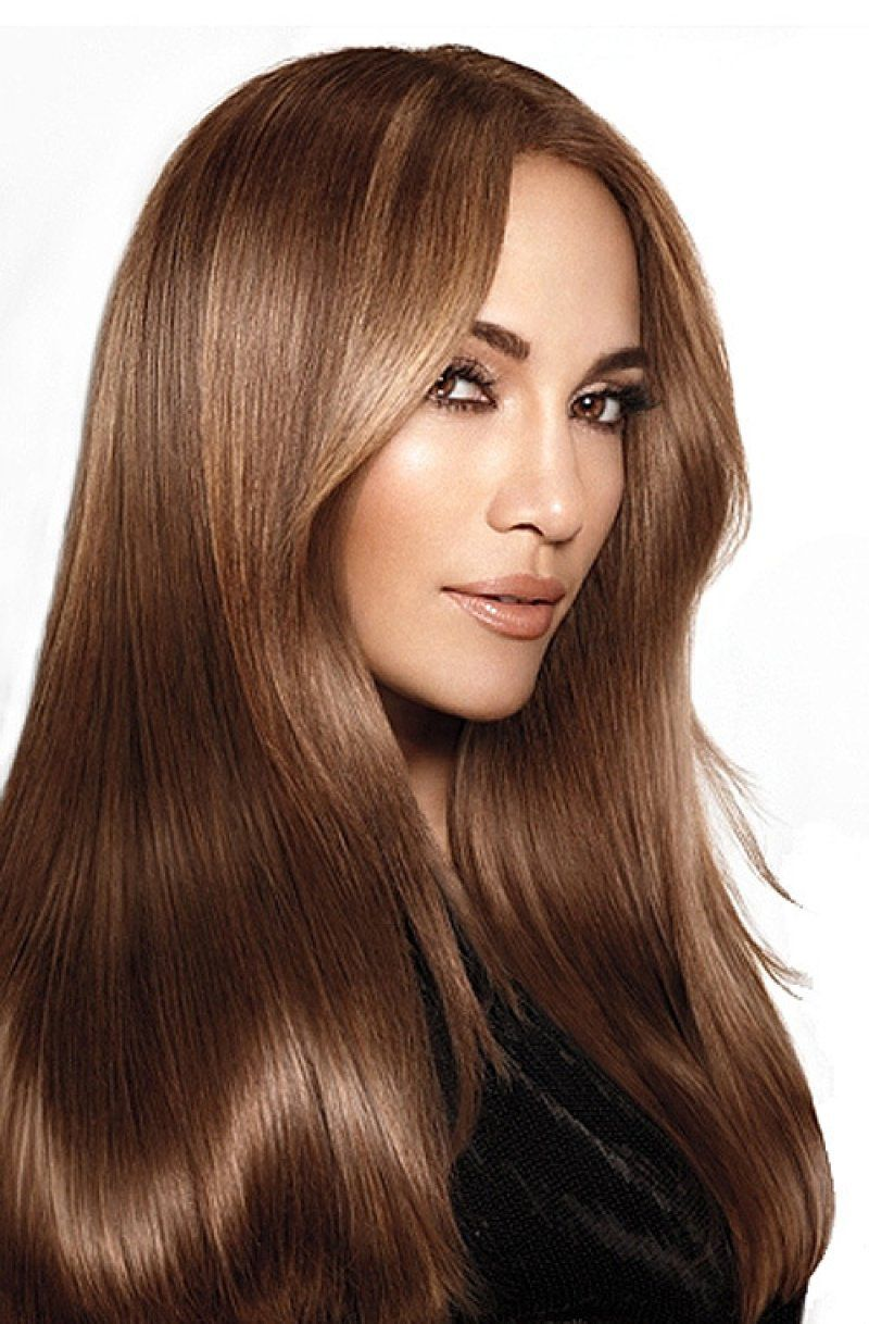 صورة لون الشعر المناسب للبشرة الحنطية ، تأثير الصبغة الغامقة عليها