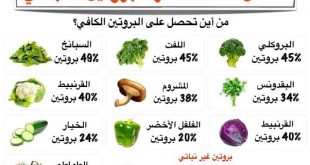 صورة اكلات تحتوي على البروتين , بروتين بدون لحوم