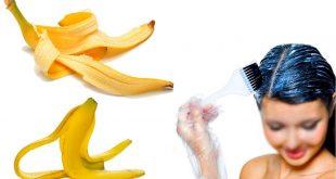 صورة الموز له فواد عظيمة للشعر راح اقلك , قشر الموز لتطويل الشعر