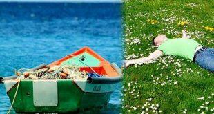 صورة المركب في المنام , تفسير حلم ركوب قارب صغير