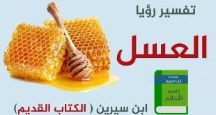صورة هل العسل حلو في المنام مثل الحقيقة , تفسير حلم العسل